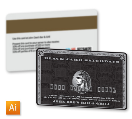 Top 10 free business card design templates of 2014 amex black business card template colourmoves